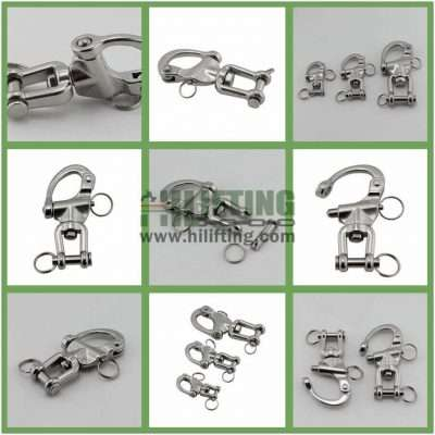 Stainless Steel Jaw Swivel Snap Shackle Details