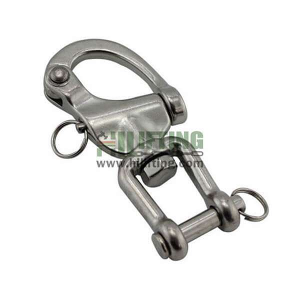 Stainless Steel Jaw Swivel Snap Shackle
