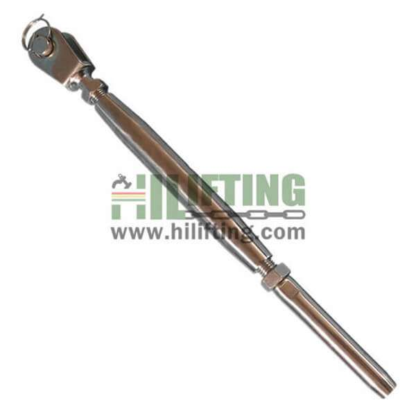 Stainless Steel Jaw and Swage Stud European Type Turnbuckle