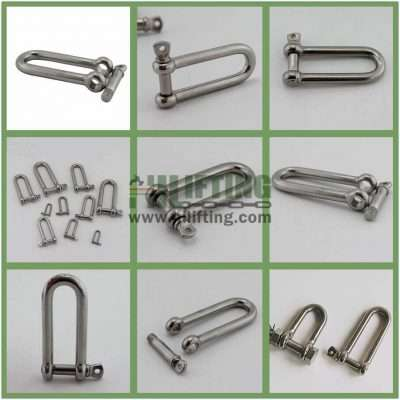 Stainless Steel Long Dee Shackle Details