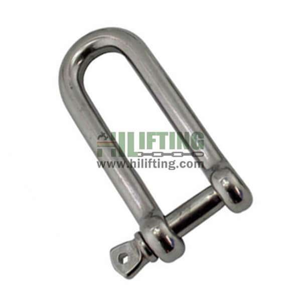 Stainless Steel Long Dee Type Shackle