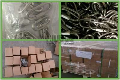 Stainless Steel Quick Link Delta Shaped Packages