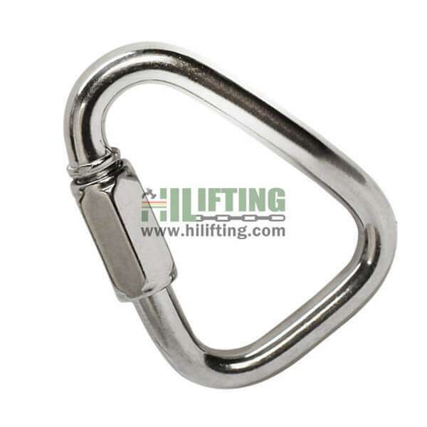 Stainless Steel Quick Link Delta Shaped