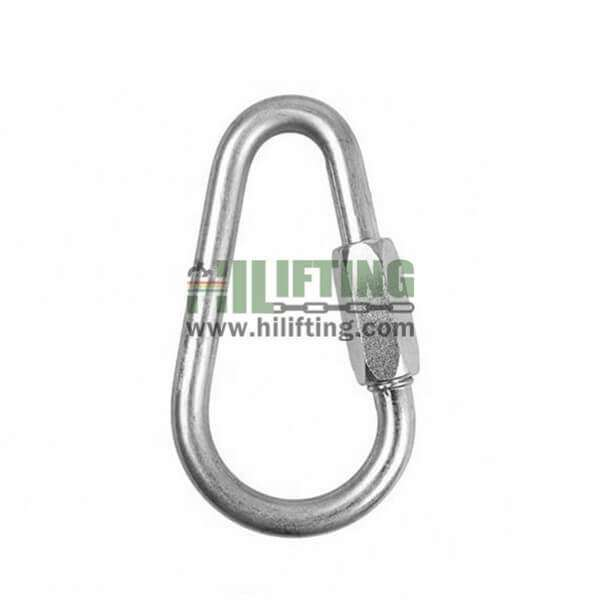 Stainless Steel Quick Link Pear Shaped