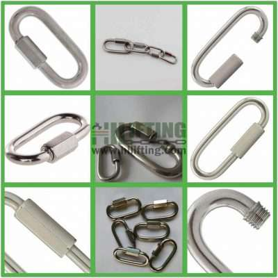 Stainless Steel Quick Link Wide Jaw Type Details