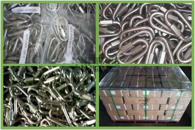 Stainless Steel Quick Link Wide Jaw Type Packages