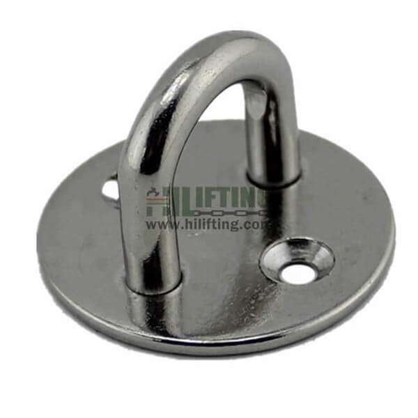 Stainless Steel Round Eye Pad Plate