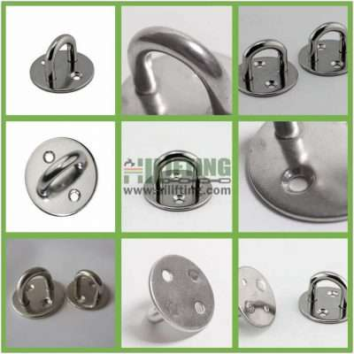 Stainless Steel Round Eye Plate Details