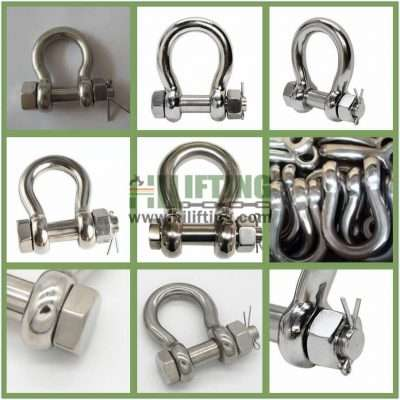 Stainless Steel Safety Pin Anchor Shackle G-2130 Details