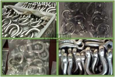 Stainless Steel Safety Pin Anchor Shackle G-2130 Packages