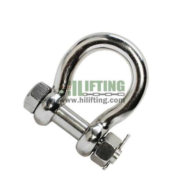 Stainless Steel Safety Pin Anchor Shackle G-2130