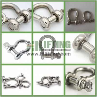 Stainless Steel Screw Pin Anchor Shackle G-209 Details