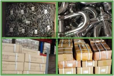Stainless Steel Screw Pin Chain Shackle G-210 Packages