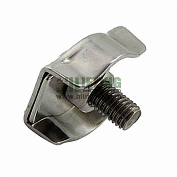 Stainless Steel Simplex Wire Rope Clip Single cable