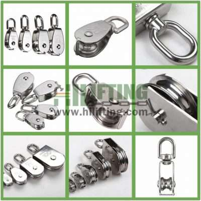 Stainless Steel Single Swivel Eye Pulley Details