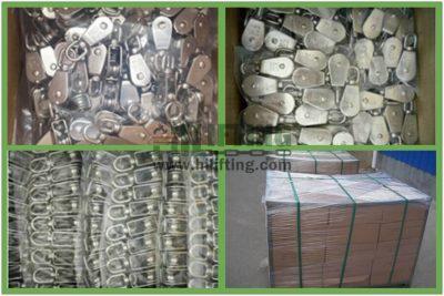 Stainless Steel Single Swivel Eye Pulley Packages