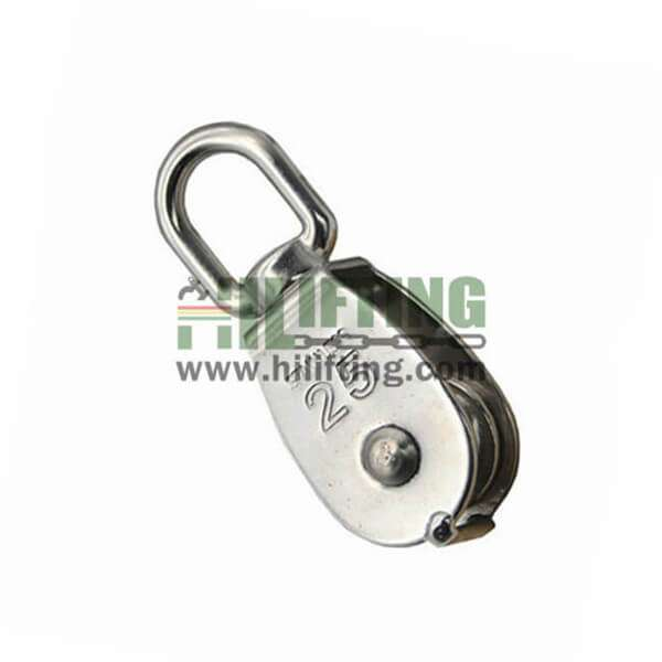 Stainless Steel Single Swivel Eye Pulley