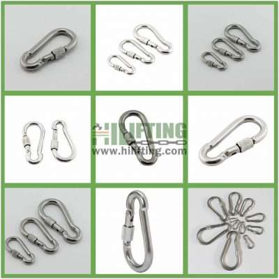 Stainless Steel Snap Hook With Screw Details