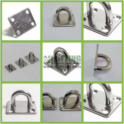 Stainless Steel Square Eye Plate Details