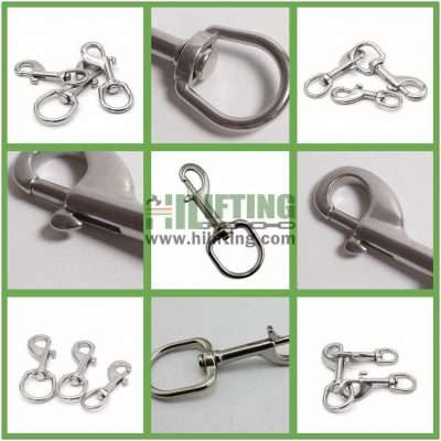 Stainless Steel Swivel Eye Bolt Snap Details