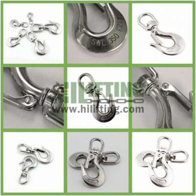 Stainless Steel Swivel Eye Hook Details