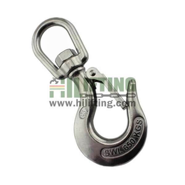 Stainless Steel Swivel Eye Hook