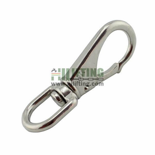 Stainless Steel Swivel Eye Snap Hook