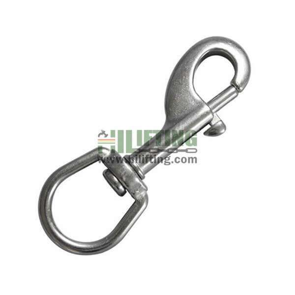 Stainless Steel Swivel Oval Eye Bolt Snap Hook