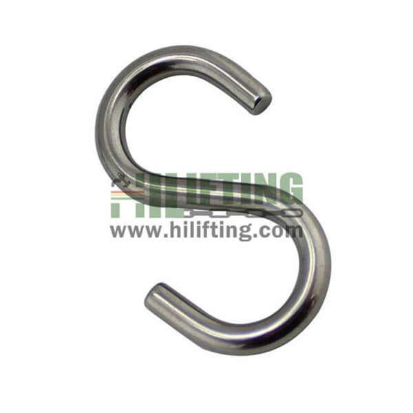 Stainless Steel Symmetric S Hook