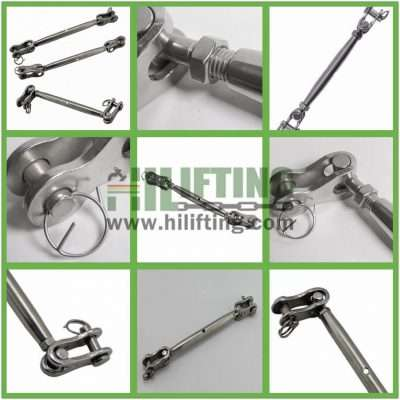 Stainless Steel Toggle and Toggle Terminal European Type Turnbuckle Details