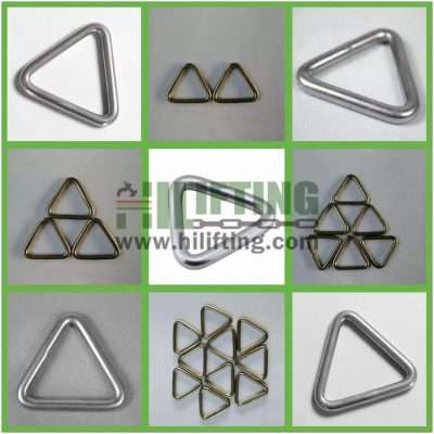 Stainless Steel Triangle Ring Details