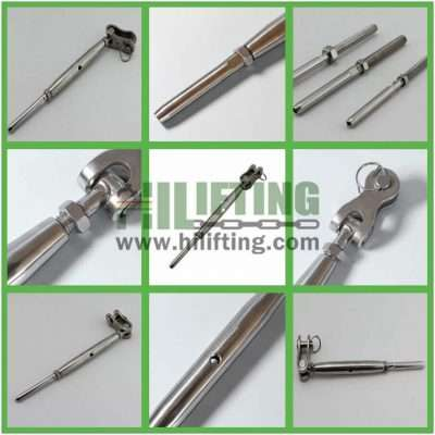 Stainless Steel Turnbuckle Toggle Wire Rope Terminal Details