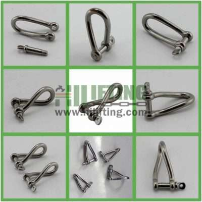 Stainless Steel Twist Shackle Details