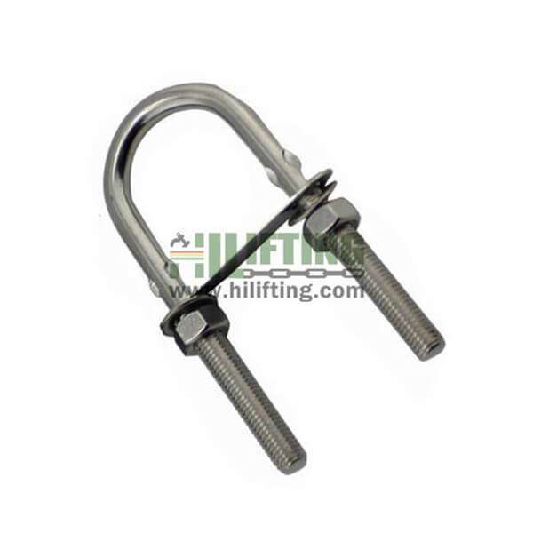 Stainless Steel U Bolt With Bow Eye