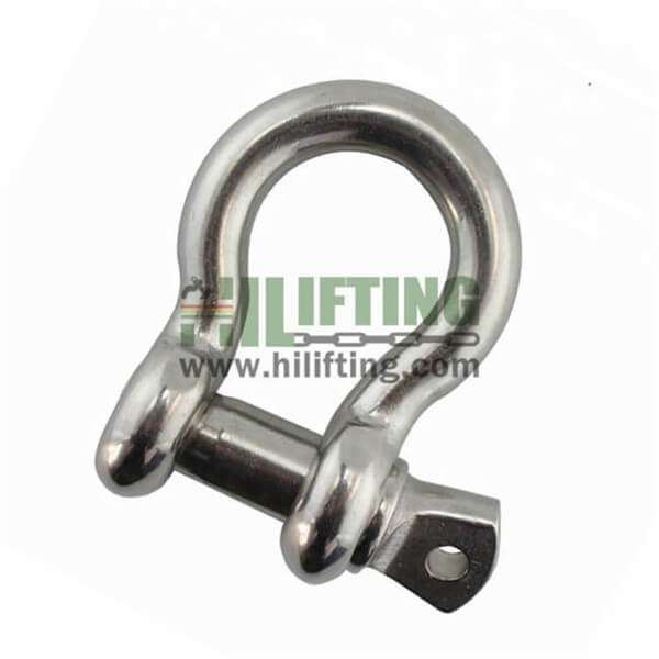 Stainless Steel US Type Bow Shackle 209
