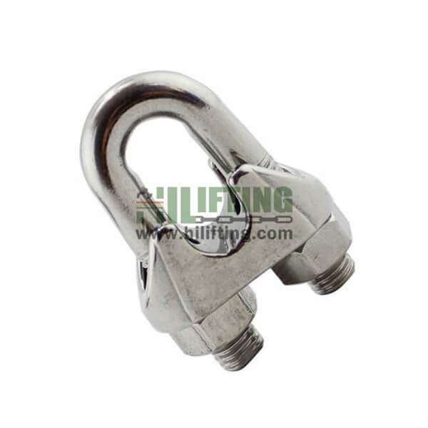 Stainless Steel US Type Malleable Wire Rope Clip Cable