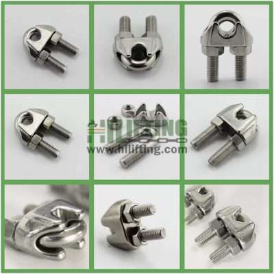 Stainless Steel US Type Malleable Wire Rope Clip Details