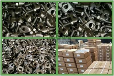 Stainless Steel US Type Malleable Wire Rope Clip Packages
