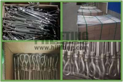 Stainless Steel US Type Turnbuckle Eye and Eye Packages