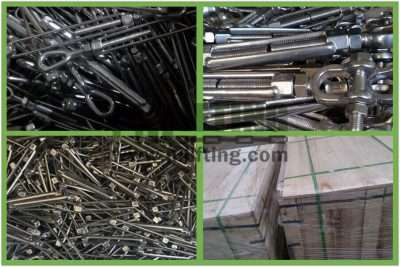Stainless Steel US Type Turnbuckle Eye and Jaw Packages