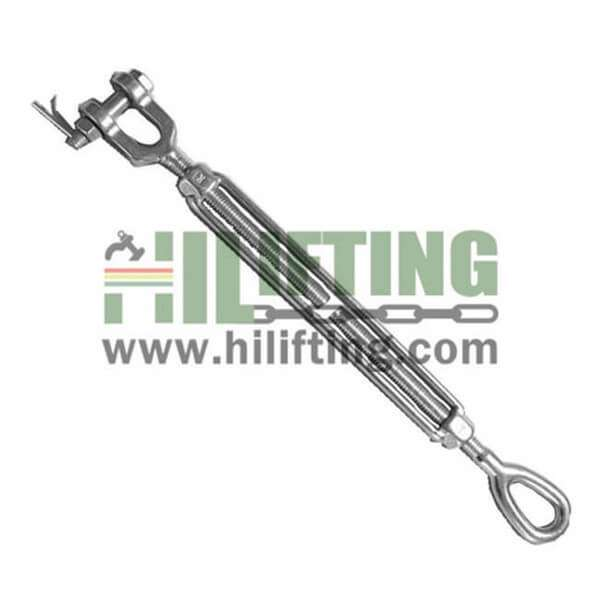 Stainless Steel US Type Turnbuckle Eye and Jaw