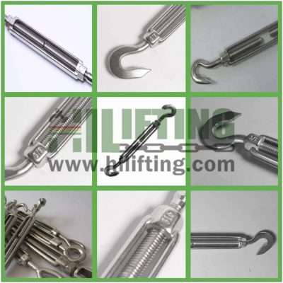 Stainless Steel US Type Turnbuckle Hook and Hook Details