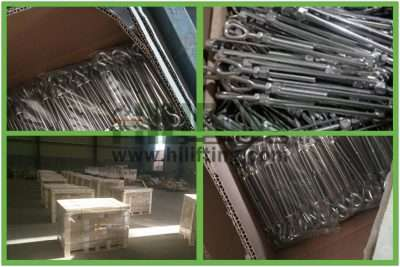 Stainless Steel US Type Turnbuckle Hook and Hook Packages