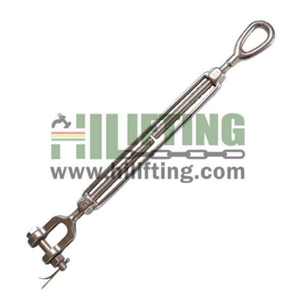 Stainless Steel US Type Turnbuckle Jaw and Eye