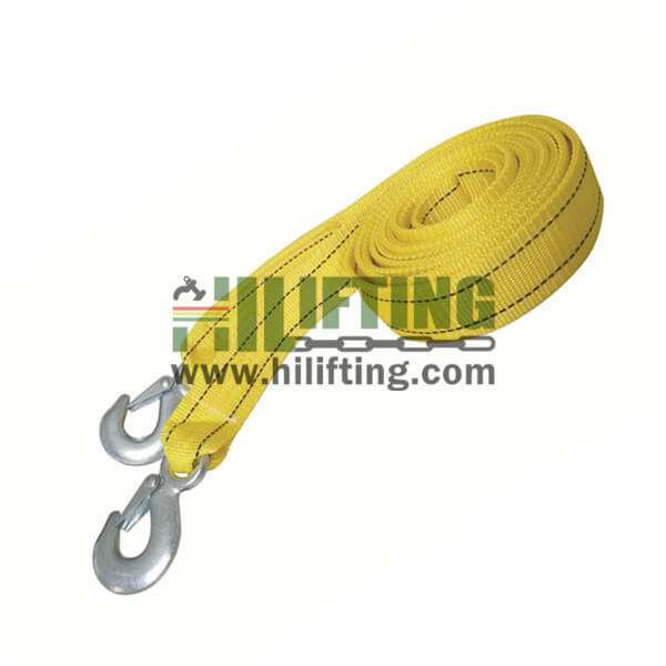 Tow Strap With Forged Eye Hook