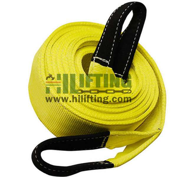 Tow Strap With Reinforced Eye