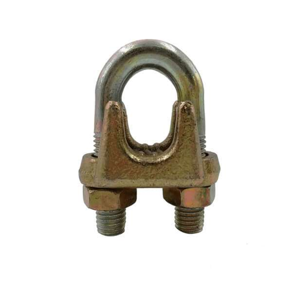 Type A Galvanized Malleable Wire Rope Clip