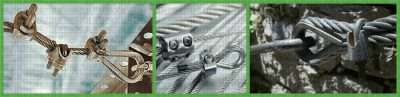 Type A Malleable Wire Rope Clip Applications