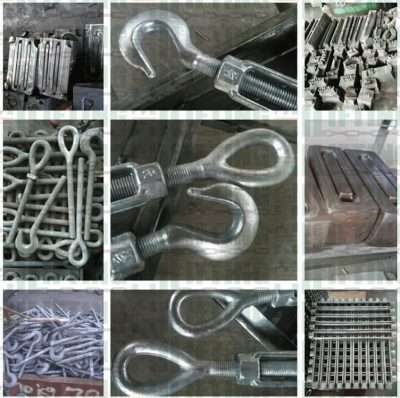 US Type Drop Forged Turnbuckles Eye & Hook details