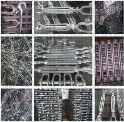 US Type Drop Forged Turnbuckles Jaw and Jaw details